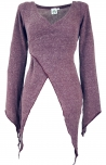 Wickel-Strickjacke, Pixi Wickeljacke - altrosa