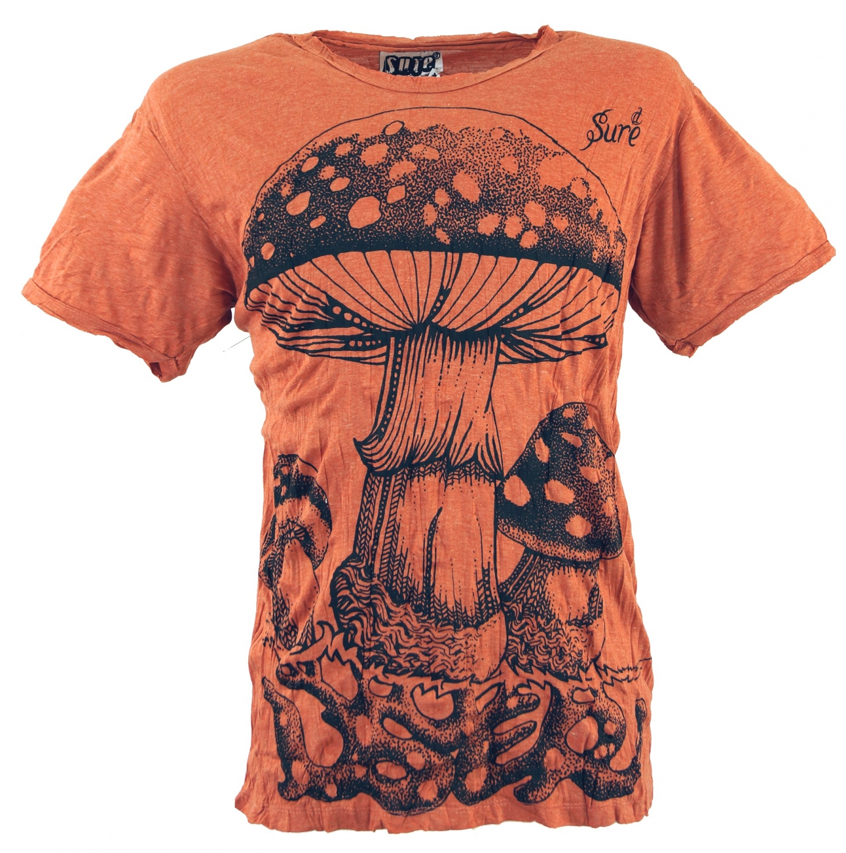 Gina Laura Shirt regular mit Seiteneinsätzen orange NEU
